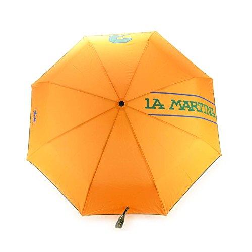 La Martina , Damen Herren Unisex-Erwachsene Stockschirm orange Orange