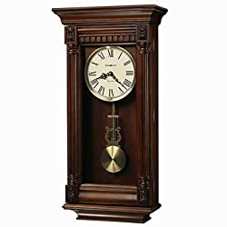 Howard Miller Lewisburg Wall Clock with Tuscany Cherry Finish