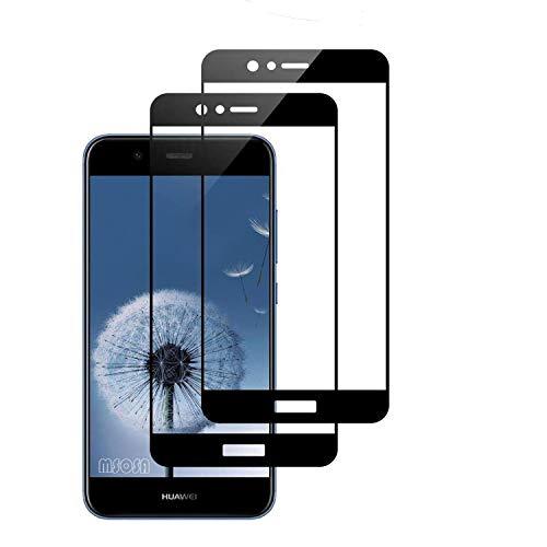 MSOSA Für Huawei Nova 2 Plus Panzerglas, [2 Stück] Gehärtetem Splitterschutzglas [Hohe Transparenz] [Anti-Öl] [Anti-Scratch] [Anti-Fingerprint].