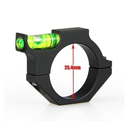 UniqueFire - Livella per Cannocchiale, Anello di 1   25.4mm, Anelli di Montaggio, Gradiente ACD, Anello Adattatore