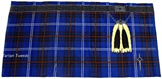 Thistle Scottish Gifts - Scottish Tartan INSAKILT Summer Beach Towel Blue - UK Gifts