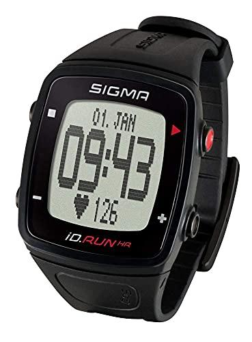 Laufuhr Sigma iD.Run HR schwarz GPS Pulsuhr Sportuhr Activity-Tracker Running Computer Sportcomputer