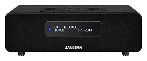 Sangean DDR-36 DAB+ radio - Digital Radio mit Bluetooth - Weckfunktion - Sleep Timer -inkl. Fernbedienung - Schwarz