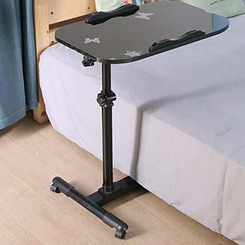Home Beistelltische Einfacher Laptop-Schreibtisch Fauler Bett-Schreibtisch Desktop Home Einfacher Zusammenklappbarer Beweglicher Nachttisch, BOSS LV, b