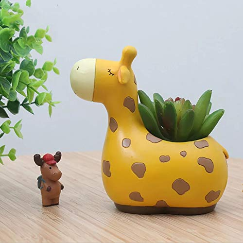 Giraffe Succulente Plant Pot Leuke Dier Bloem Planter Bloempot Ontwerp Mooie Kleine Dieren Thuis Tuin Bonsai Potten
