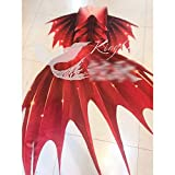 ABD Traje de baño de cola de sirena para niñas, traje de baño de sirena, traje de baño a medida para acuario, fotos de sirena hechas a medida (color: estilo C, tamaño: a medida)