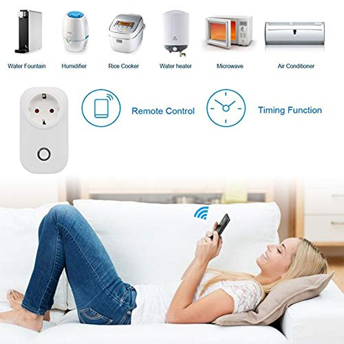 Hihey Mini WLAN Smart Plug Intelligent stopcontact Alexa Google startpagina spraakbesturing app smart bus wifi smart switch