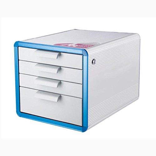 Armoires de classement Liuyu · Maison de Vie Classeur d'alliage d'aluminium de Coffret de Dossier A4 4 Couches de boîte de Rangement de Bureau