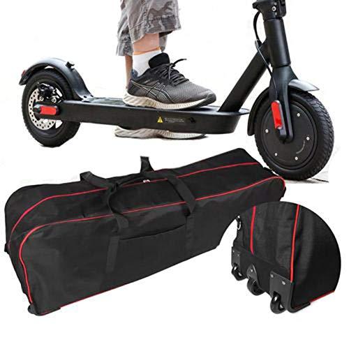 Scooter-Tasche Rollertasche Elektrische Aufbewahrung Hochleistungs Transporttasche Faltbar Stilvoll Für 10 Zoll Elektroroller 115 X27x35cm