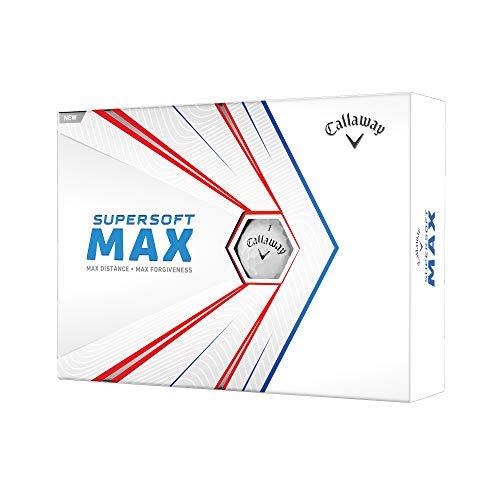 Callaway Pelota Supersoft MAX White Docena