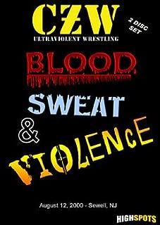 Czw- Combat Zone Wrestling- Blood, Sweat & Violence Double DVD-R Set
