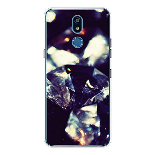 Silicone Soft Phone Case Crystal Diamond for Lg K50 K40 Q8 Q7 Q6 V50 V40 V35 V30 V20 G8 G7 G6 G5 Thinq Mini Cover,for Lg Q7,Style 05