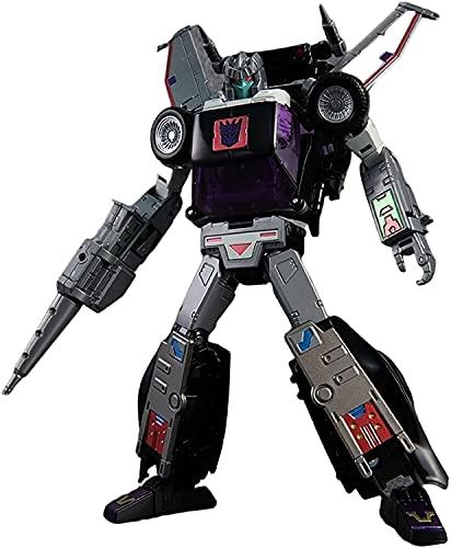 YRJ Transformers Masterpiece Transformer Toys Masterpieces MP-25L Figura de acción de Pistas Negras Serie de Estudio