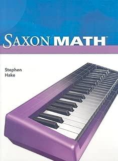 Saxon Math, Intermediate 4 (Student Edition)