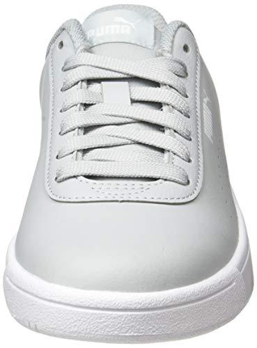 PUMA Court Pure, Zapatillas Unisex Adulto, Rojo (High Rise/High Rise White), 37 EU