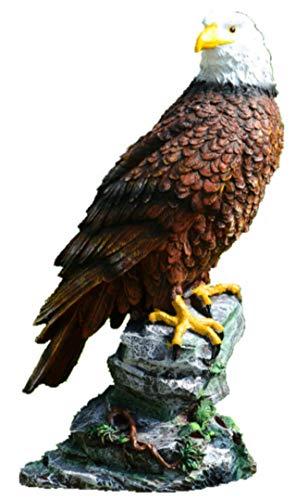 heizi 鷹 置物 大迫力 30cm級 鳥よけ カラス 撃退 ベランダ鳩よけ コウモリ 害鳥 害獣 撃退 庭 オブジェ