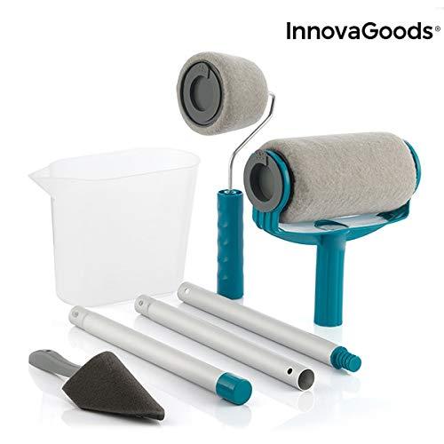 InnovaGoods IG814793 Roll'n'Paint Lot de 5 rouleaux de peinture...