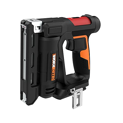 """Worx Nitro WX843L 20V Power Share 3/8"""" Cordless Crown Stapler with Air Impact Technology"""