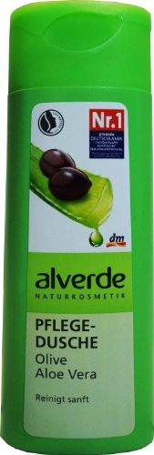 Alverde - Gel Douche - Olive & Aloe Vera bio - 250 ml