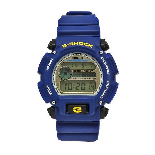 Relogio Casio G-shock Dw9052 Azul/Preto Alarme Cron Wr 200