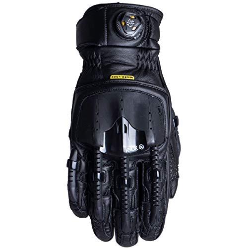 KNOX Handroid POD Guantes para Motocicleta, Hombre, Negro, XXX-Large