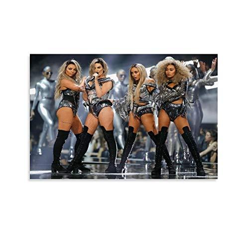 SDFGSD Band Little Mix Poster Tour Outfits Poster Dekorative Malerei Leinwand Wandkunst Wohnzimmer Poster Schlafzimmer Gemälde