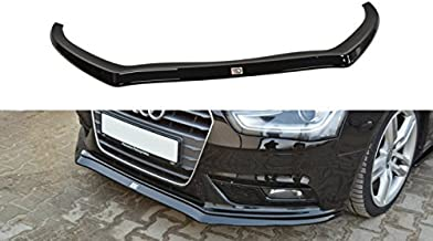 Front Splitter Version.2 Compatible with Audi A4 B8 (Facelift)
