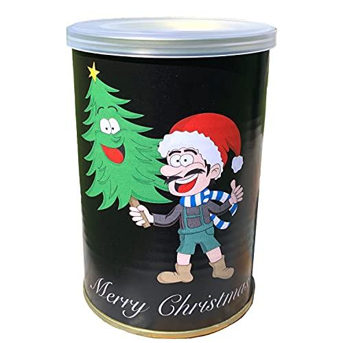 Wichtelgeschenk Weihnachtsbaum in der Dose - Geschenk Weihnachten Julklapp Nikolaus Tannenbaum
