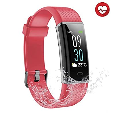 Semaco Fitness Tracker, Smart Activity Wristband with Pedometer Calorie Tracking Sleep Monitoring Sports Bracelet for Kids Women Men