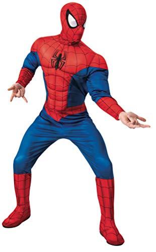 Rubie's Men's Marvel Universe Spider-Man Deluxe Costume, As Shown, Standard
