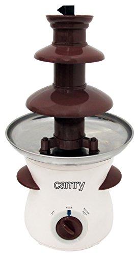 Camry CR 4457 CR4457 Fontaine à chocolat, 80 W, 0.5 liters, Blanc