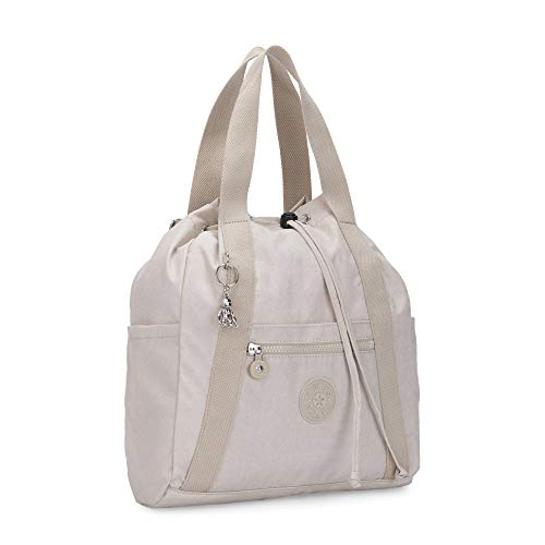 Kipling Women's Art Small Tote Backpack, Galaxy Twist Grey, One Size