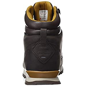 The North Face Men's Back-2-Berkeley Redux Leather - Chocolate Brown & Golden Brown - 10.5
