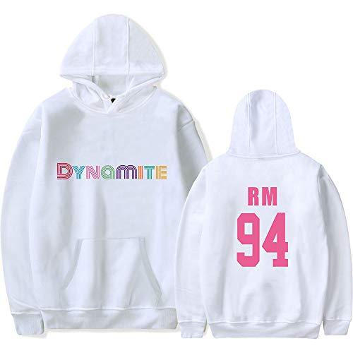 Kasonj Kpop BTS Bangtan Boys Dynamite Langarm Kapuzenpullover SUGA RM JIN Jimin V JUNG KOOK J-Hope Pullover Sweatshirts