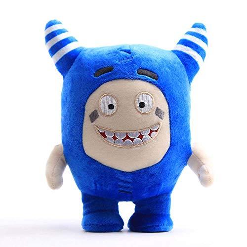 FEIDIAO Anime Oddbods Plüsch Spielzeug Stoff Spielzeug Puppe Geschenk Oddbods Beschwichtige Puppe 23cm (E)