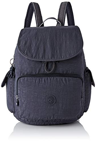 Kipling Damen City Pack Rucksack, Grau (Night Grey), 32x37x18.5 centimeters