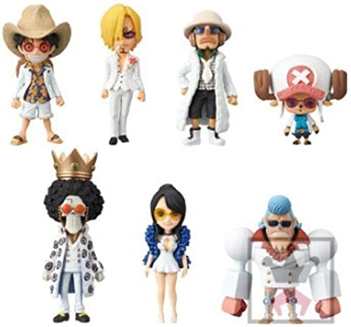 Piece World Collectable figures -ONE PIECE FILM Gold-vol.1 all seven set