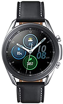 Samsung Galaxy Watch3 GPS Smartwatch (Bluetooth, 41mm, Mystic Silver)