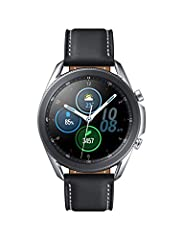 STYLE YOU CAN COUNT ON: Galaxy Watch3 combines style—two sizes, two finishes, three colors and, 50,000 plus¹ watch faces-with military-grade durability² and water resistance³. LEAVE YOUR PHONE BEHND: Galaxy Watch3 gives you the freedom to call, text,...