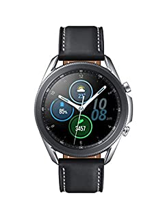 Samsung Galaxy Watch 3 (41mm, GPS, Bluetooth) Smart Watch with Advanced Health Monitoring, Fitness Tracking , and Long lasting Battery - Mystic Silver (US Version) (B089DPMDNM) | Amazon price tracker / tracking, Amazon price history charts, Amazon price watches, Amazon price drop alerts