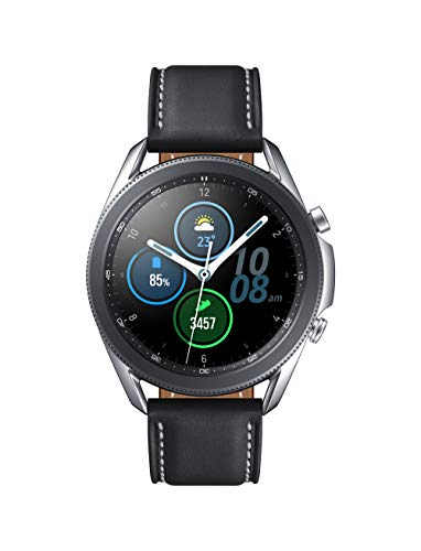 Samsung Galaxy Watch3 41mm, GPS, Bluetooth), Mystic Silver (US Version)