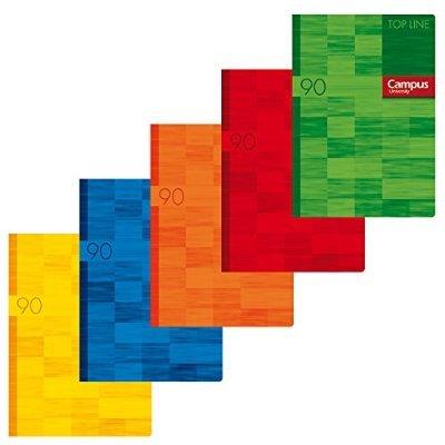 Campus libreta A4 96 hojas, Doble pauta 3,5, Pack 3,: Amazon.es ...