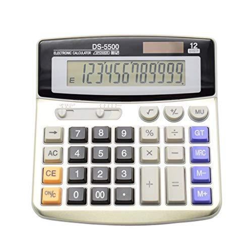 BAIYOU calculatrice, calculatrice de bureau 12...