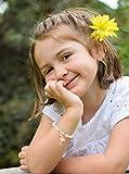 Tacobear 12 Stück Freundschaftsarmband Armbänder Kinder Perlenarmband mit Anhänger Tiere Einhorn Armband Kristall Charm Armband für Mädchen Mitgebsel Kindergeburtstag Gastgeschenke (Einschichtig) - 4