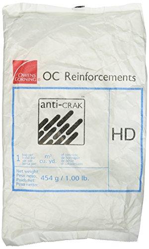 Bon Tool 32-500 Concrete Fibers - 3/4' Anti-Crak - 1 Lb