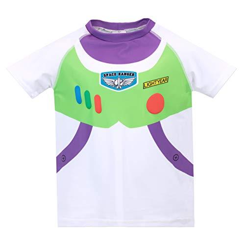 Disney Costume da Bagno per Ragazzi a Due Pezzi Toy Story Buzz Lightyear Multicolore 2-3 Anni