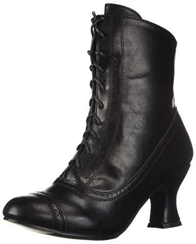 Ellie Shoes 253-SARAH, Bottes mi-mollet. Femme, Noir, 42 EU