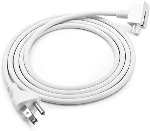 Replacement Power Adapter Extension Cord Wall Cord Cable Compatible for Apple Mac iBook iPad MacBook Pro MacBook Power Adapters 45W, 60W, 85W