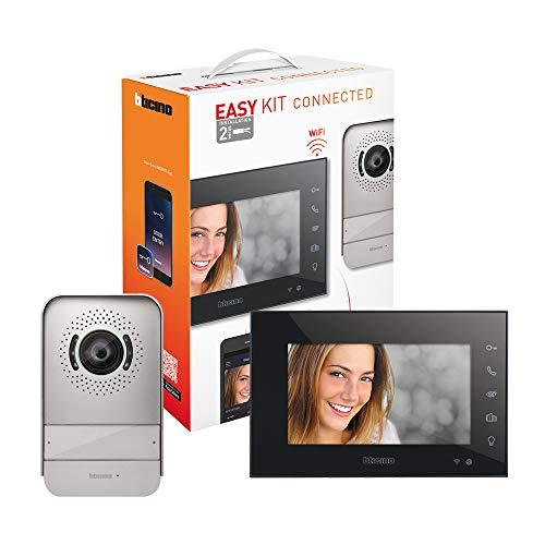 Bticino 318015 Easy Kit Videocitofono Connesso monofamiliare, predisposto per bifamiliare