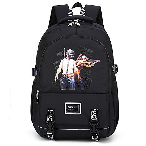 HBRE Travel Laptop Backpack,Eat Chicken With The Same Print Backpack,15 Inch Large School College Bag,Plenty Of Storage Bag For Outdoor Camping Mountaineering Walking Cycling Climbing,1